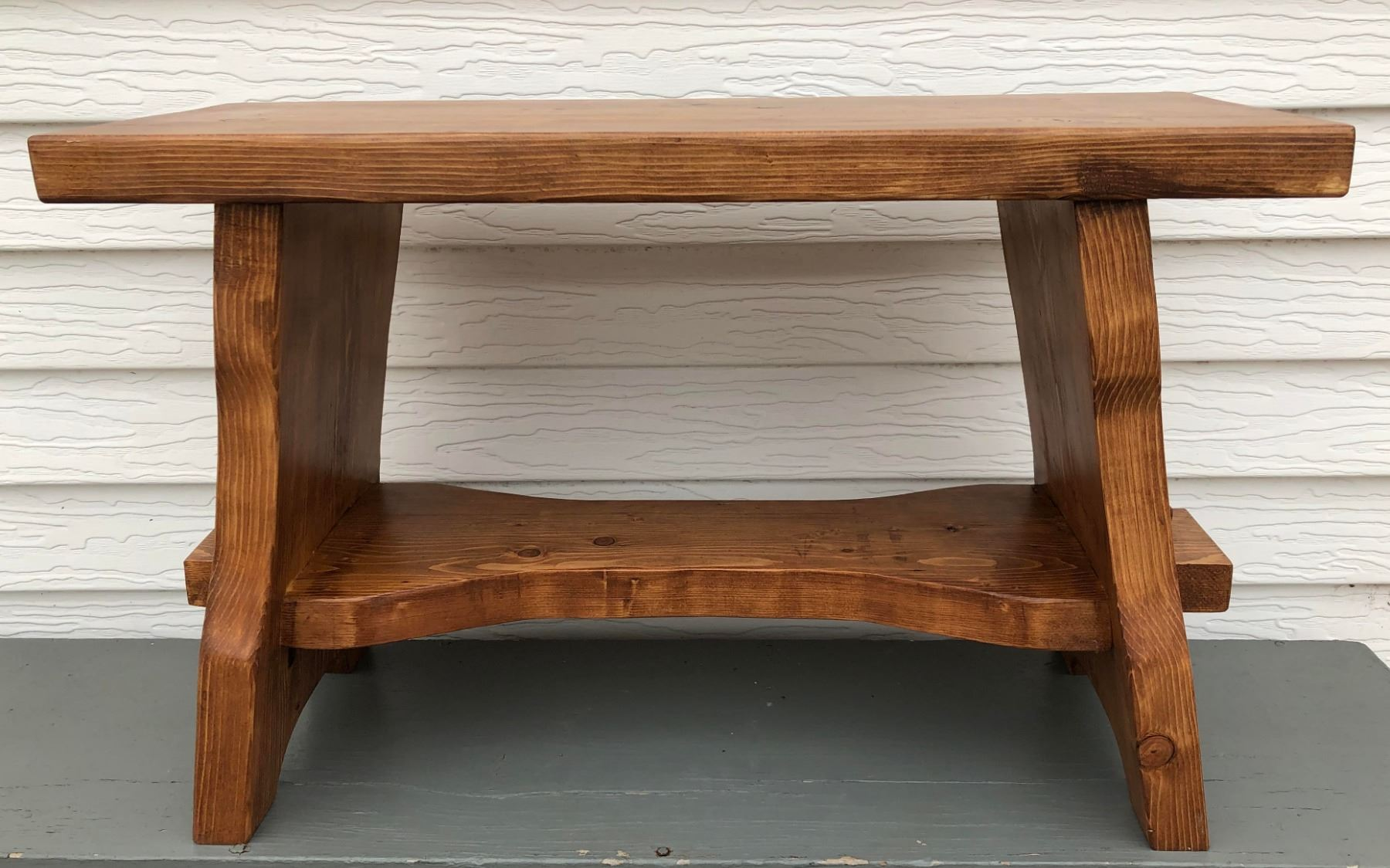 Hand Crafted Wooden Bench