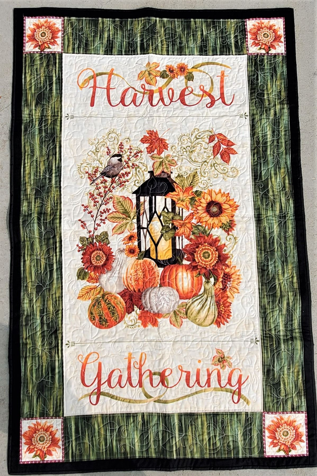 Fall Quilt Wall Hanging