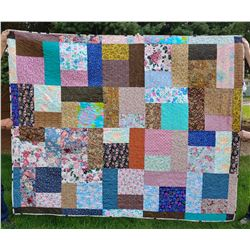 Special Quilt finished by Bowman Lutheran Quilting Group