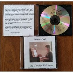 Piano Music CD