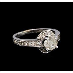 14KT White Gold 1.12 ctw Diamond Ring