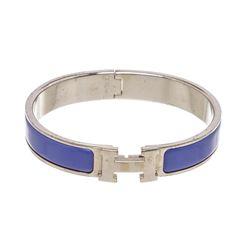 Hermes Blue Clic Clac H Bracelet