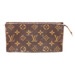 Louis Vuitton Monogram Canvas Leather Toiletry 15 Pouch Case