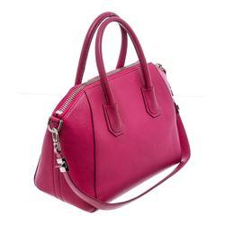 Givenchy Pink Leather Medium Antigona Satchel Bag