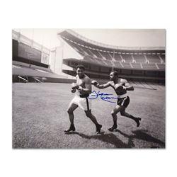Ken Norton Chasing Ali by Norton & Ali
