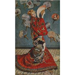 Claude Monet - Camille in Japanese Dress