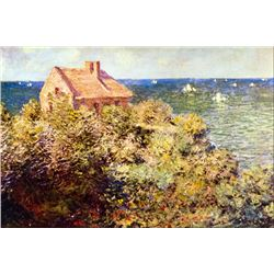 Claude Monet - Fisherman's Cottage on a Cliff