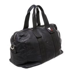 Louis Vuitton Blue Calfskin Leather Gaston V Start MM Bag