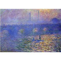 Claude Monet - Waterloo Bridge