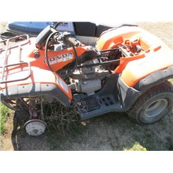 'AS IS' HONDA FOURTRAX ES 350 PARTS