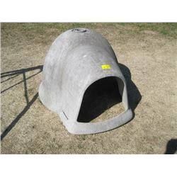 "IGLOO DOG HOUSE - NO BASE - 4' x 3' x 27"" (LxWxH)"