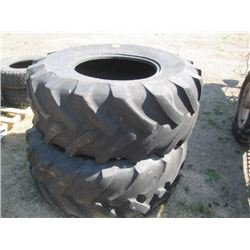 2 LARGE TRACTOR TIRES MICHELIN 19X5LR24X