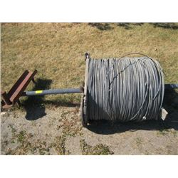 """LARGE ROLL OF 3/8"""" WIRE STRAND WIRE"""