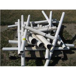 LOT OF PVC PIPE
