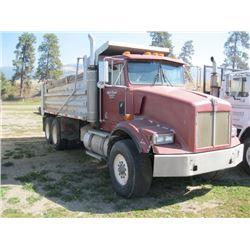 1990 KENWORTH T450 GRAVEL TRUCK 197,486 KMS (CERT APRIL 2019)