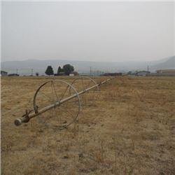WHEEL LINE SPRINKLER IRRIGATION SYSTEM - UPPER EAST FIELD NORTH (20 WHEELS)