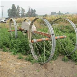 WHEEL LINE SPRINKLER IRRIGATION SYSTEM - DRIVE WITH PARTS - SOUTHWEST FIELD