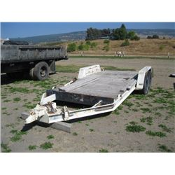DUAL AXLE TRAILER (NO PAPERS)
