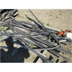 PALLET OF PIPE FOR SHED