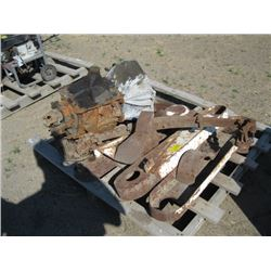 PALLET WITH MISC TRANSMISSION ETC.