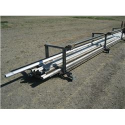 METAL RACK WITH ALUM PIPE