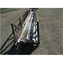 METAL RACK WITH ALUM PIPE & CHANNEL