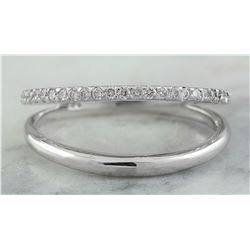 0.25 CTW 14K White Gold Diamond Ring