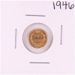 1946 Mexico Dos Peso Gold Coin