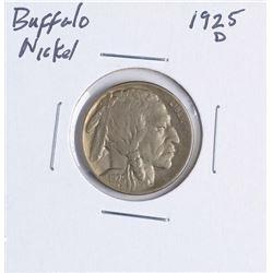 1925-D Buffalo Nickel Coin
