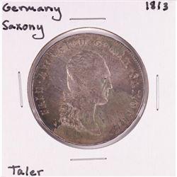 1813 Germany Saxony Taler Coin