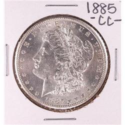 1885-CC $1 Morgan Silver Dollar Coin