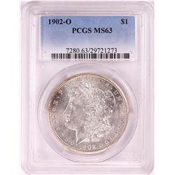 1902-O $1 Morgan Silver Dollar Coin PCGS MS63