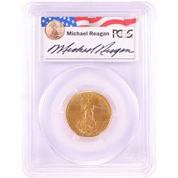 1986 $10 American Gold Eagle Coin PCGS MS69 Reagan Legacy Series