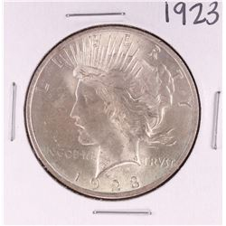 1923 $1 Peace Silver Dollar Coin