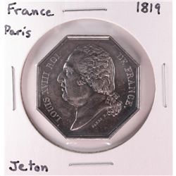 1819 France Paris Jeton Token Coin