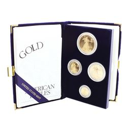 2003 Proof American Gold Eagle (4) Coin Set w/ Box & COA