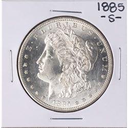 1885-S $1 Morgan Silver Dollar Coin