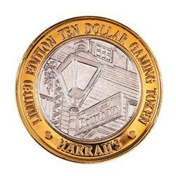 .999 Silver Harrah's Las Vegas, Nevada $10 Casino Limited Edition Gaming Token