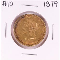 1879 $10 Liberty Head Eagle Gold Coin
