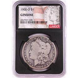 1900-O $1 Morgan Silver Dollar Coin NGC Genuine