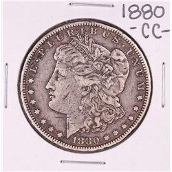1880-CC Reverse of 79' $1 Morgan Silver Dollar Coin