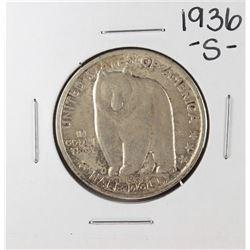1936-S Oakland Bay Bridge Commemorative Half Dollar Coin