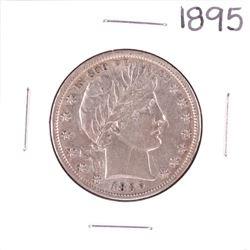 1895 Barber Half Dollar Coin