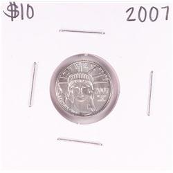 2007 $10 Platinum American Eagle Coin