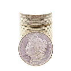 Roll of (20) Brilliant Uncirculated 1881-S $1 Morgan Silver Dollar Coins