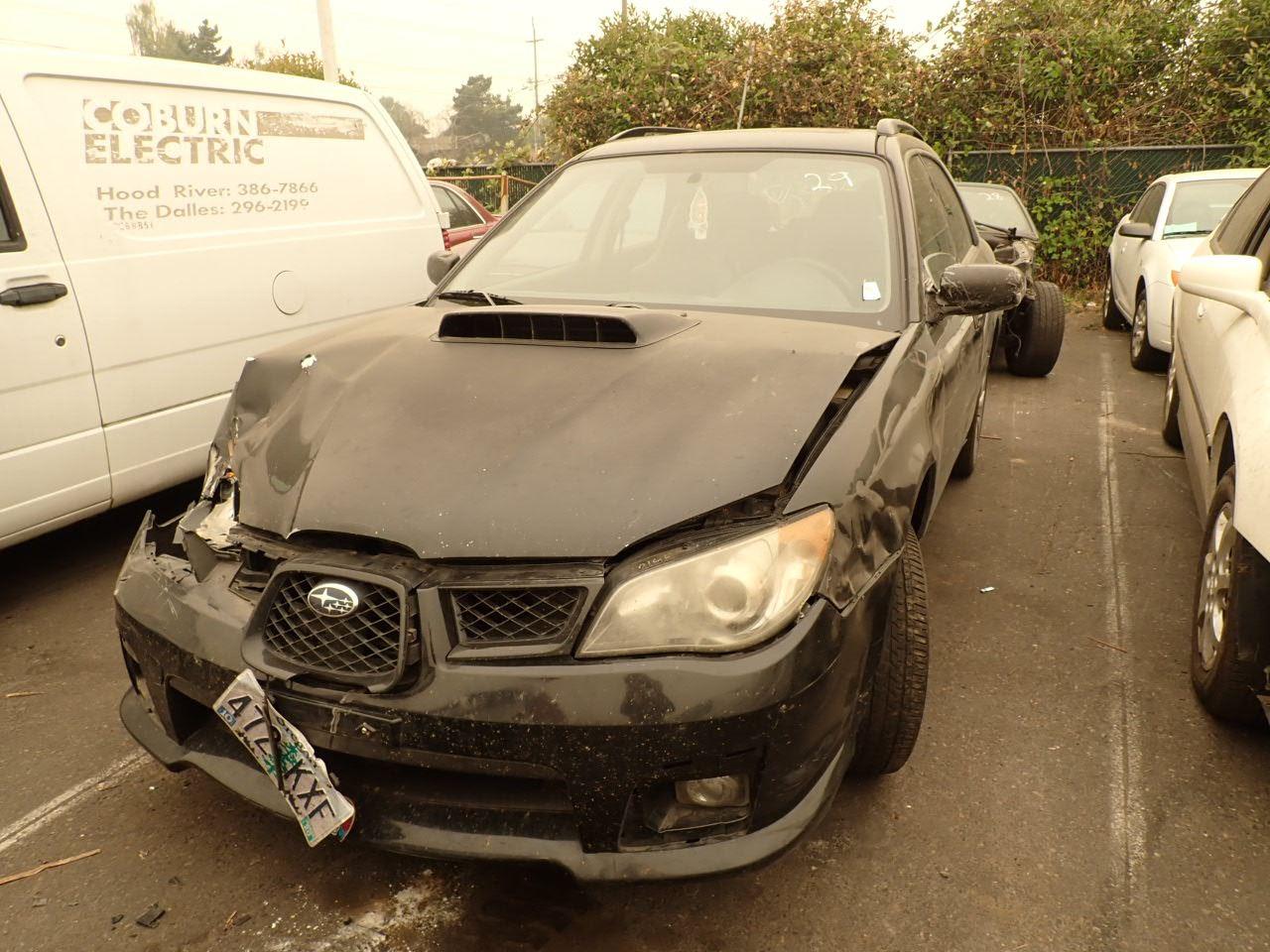 2006 Subaru Impreza Wrx Speeds Auto Auctions