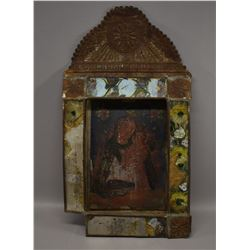 MEXICAN TIN RETABLO