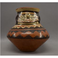 SHIPIBO POTTERY EFFIGY JAR