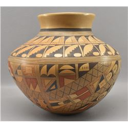 HOPI INDIAN POTTERY OLLA (RONDINA HUMA)