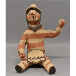 JEMEZ INDIAN POTTERY CLOWN (FRAQUA)